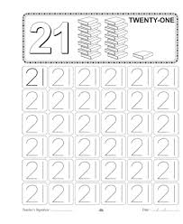 number 21 worksheets free worksheets library download and print