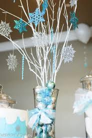 Winter Party Decorations - winter wonderland 9th birthday paper crush