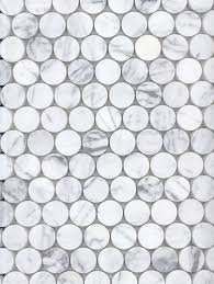 best  penny round tiles ideas on pinterest  modern bathroom  with academy tiles  stone mosaic  stone penny rounds   from pinterestcom