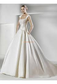 robe de mari e satin robe de mariée satin dentelle avec bretelles