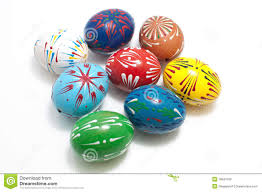 painted eggshells painted genuine egg shells stock photo image of christmas