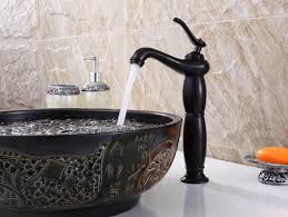 bathroom vessel sinks and faucets design gyleshomes