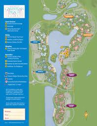 Disney Map 2013 Caribbean Beach Resort Guide Map Photo 1 Of 6