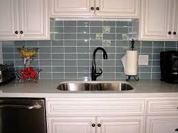 Subway Tile Backsplash Ideas For The Kitchen Glass Tile As Backsplash Cherry Cabinets Backsplash Subway Tile