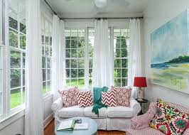 house of turquoise living room sunroom window treatments house of turquoise such a bright and