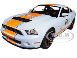2012 mustang gt500 ford mustang shelby gt500 gulf 08 1 18 diecast model car
