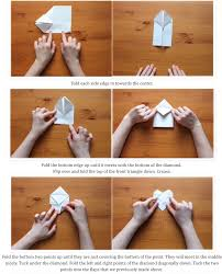 origami how to make a paper envelope steps fold 12x12 paper into