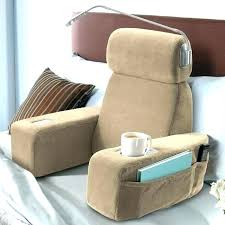 armed bed pillows armed bed pillows backrest pillows with arm rest armrest for bed
