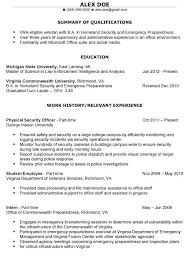 Sample Resume For Law Enforcement by Law Enforcement Resume Templates 116 Template Billybullock Us