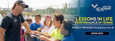 rafa nadal tennis academy lessons in life performance in tennis