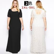 2016 full lace wedding dress plus size maxi dress long little