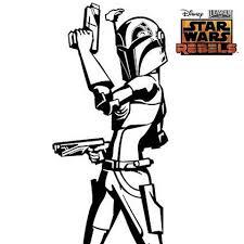 star wars rebels sabine coloring pages murderthestout