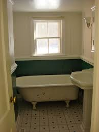 bathroom simple clawfoot tub in small bathroom apartment with