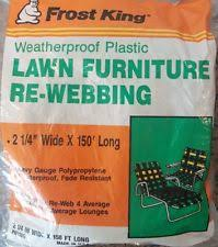 Rewebbing Patio Furniture by Plastic Lawn Chairs Ebay