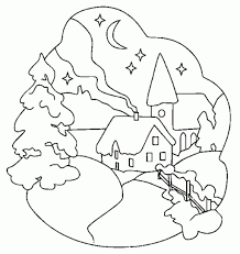outdoor scene coloring pages nativity scene coloring pages for