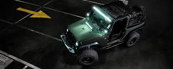 jeep light bar at night off road lighting u0026 parts and emergency strobe lighting store