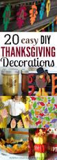 diy thanksgiving decorations 20 thanksgiving ideas