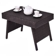 rattan side table outdoor rattan side table ebay