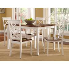 dining room tables white metropolitan 3 piece dining set multiple finishes walmart com