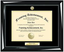 college diploma frame diploma frames graduation gifts graduates glossy majestic