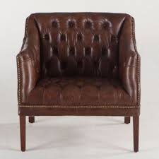 trends u0026 design grosvenor louis vintage leather club chair