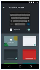 keyboard themes for android how to customize your android keyboard with colors and