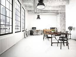 industrial style loft home design ideas