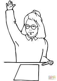 coloring coloring page hand