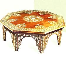 moroccan tea table stand round moroccan coffee table tea table medium size of style side