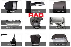 rab led flood lights rab lighting chions in outdoor lighting performance