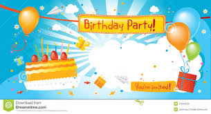 An Invitation Card Design An Invitation Card For Your Birthday Party