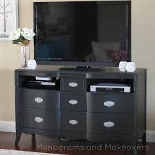 Entertainment Center Ideas Diy Dresser To Entertainment Center Tutorial Monograms And Makeovers