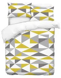 mustard yellow floral duvet cover house of decor