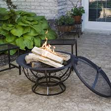 Firepit Covers Metal Pit Screen Custom Fit Covers Cover Lid Home Depot