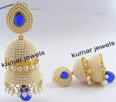 designer earrings kumar jewels pearl jhumki earrings artificial jhumki earrings