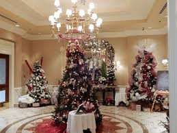 great entrance view of trees in foyer picture of