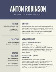 High Student Resume Template By by Blue And Cream High Resume Templates By Canva