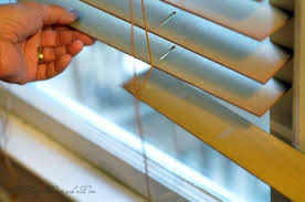 Removing Window Blinds Painting Wood Blinds Hometalk
