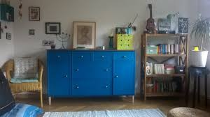 sideboard cabinet ikea expedit turns into beautiful blue sideboard cabinet ikea