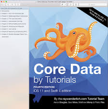 bootstrap tutorial epub core data by tutorials fourth edition ios 11 and swift 4 edittion