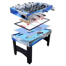 large multi game table combo games blue wave products