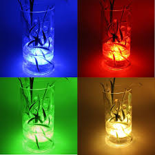 amazon com multicolor led submersible light battery operated rgb
