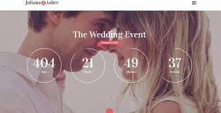 le site du mariage 10 thèmes pour créer un site web de mariage 10 thèmes