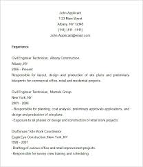 Architectural Draftsman Resume Samples by Sample Construction Resume 4 Construction Labor Resume Sample