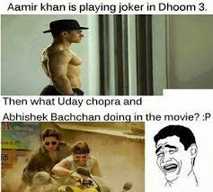 Aamir Khan Memes - funnypics 125 amir khan s dhoom 3 bollywood movie funny pictures