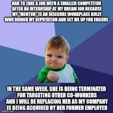 Workplace Memes - success kid meme imgflip