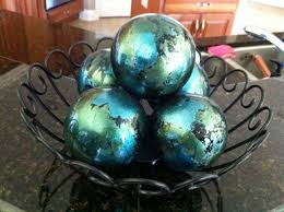 decorative spheres from pier one i have these and they look great