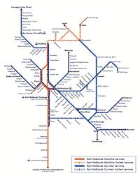 Seattle Link Rail Map Map Of East Midlands Rail East Mids Pinterest