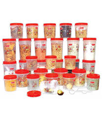 princeware international plastic containers set of 42 buy online princeware international plastic containers set of 42