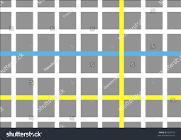 Grid Map Abstract City Grid Map Stock Illustration 9350770 Shutterstock